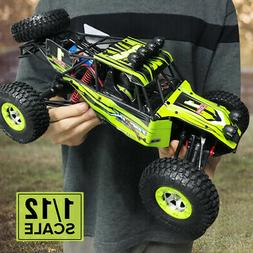 12428 Monster Trucks RC Car 1/12 2.4G Rock Crawler 4WD Off R