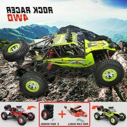 12428 RC Car Kit 4WD 1/12 2.4G RC Truck Rock Crawler Speed R
