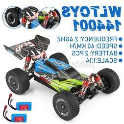 Wltoys 144001 1/14 2.4G 4WD  Racing RC Car Vehicle Model 60k