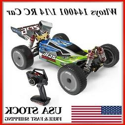 Wltoys 144001 RC Car 60km/h 1/14 2.4GHz 4WD Racing Off-Road