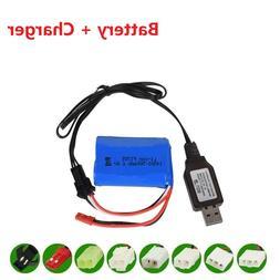 14500 500mah 6.4v Li-ion Battery for Wltoys 18401/18402 Remo