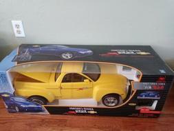 "16 Scale New Bright Chevrolet SSR Yellow  9.6V RC car 24"" NI"