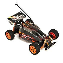 ALEKO 189112A-AAA Battery Powered Off-Road RC Toy Buggy, Gre