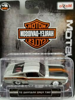 1967 Ford Mustang GT Harley Davidson Custom  1/64 Scale Diec