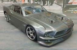 1968 Ford Mustang VTA Custom Painted Nitro Gas RC Touring Ca