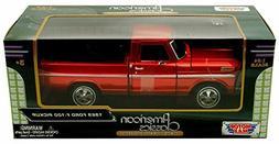 1969 Ford F-100 Pickup, Red - Motormax Premium American 7931