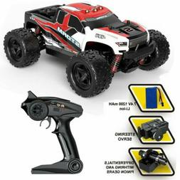 2.4G 4WD High Speed RC Car 1:18 Off-Road Truck Race Fast Rem