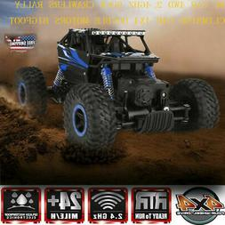 2.4G 4WD RC Monster Truck Off-Road Vehicle Remote Control Bu