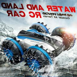 2.4G 4WD Water And Land 2In1 Amphibious Stunt Waterproof Dou