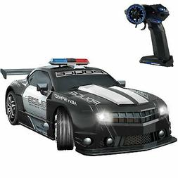 Haktoys 2.4GHz 1:12 Scale RC Police Sports Race Drift Car He