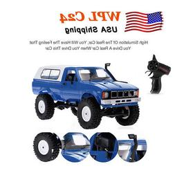 2.4GHz 4WD RC Car WPL C24 1/16 Crawler Pick-up Truck RTR wit