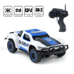 2.4Ghz Mini Racing Truck 4WD Rally RC Car Short Course Elect