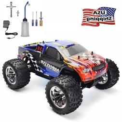 HSP 2.4Ghz RC Car 1/10 Scale Monster Truck Nitro Power 4wd O