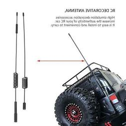 2 pcs RC Vehicle Decoration Parts Simulation Antenna for Tra