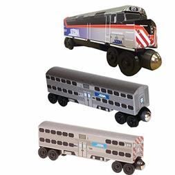 NEW! 2017 Chicago Metra F-40 3 pc. SET by Whittle Shortline