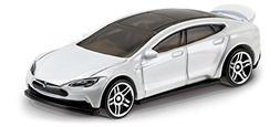 Hot Wheels 2017 Factory Fresh Tesla Model S 175/365, White,