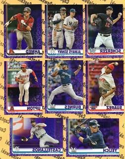 2019 Topps PURPLE SP Toys R Us / Meijer Paper Parallel Cards