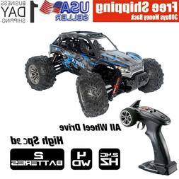 25 Km/h 1/16 2.4G 4WD Remote Control Car RC Monster Truck Hi
