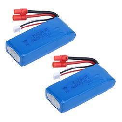 Cheerwing 2pcs 25C 7.4V 2000mAh Lipo Battery  For Syma X8C X