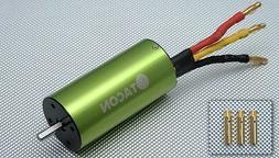 Tacon 2858-380XL-17T Brushless Motor 1700KV for 1/10 1/12 Ca