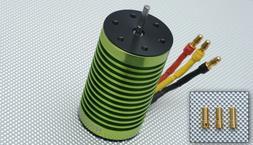 Tacon 2858-380XL-18T Brushless Motor 1600KV for 1/10 1/12 Ca
