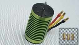 Tacon 2858-380XL-9T Brushless Motor 3200KV for 1/10 1/12 Car