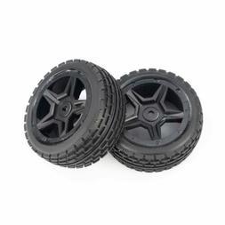 Hosim 2PCS 1:14 RC Car Front Wheel Tires Parts Wheels 71-003