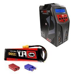 Venom 30C 3S 2200mAh 11.1V LiPo Battery with Pro Duo Charger