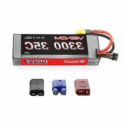 Venom 35C 3S 11.1V 3300mAh Hard Case RC LiPo Battery with De