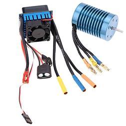 GoolRC 3650 4370KV 4P Sensorless Brushless Motor with 45A Br