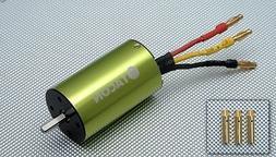 Tacon 3660-540L-23T Brushless Motor 1025KV for 1/10 Car Truc
