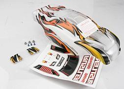 Traxxas 3717 Rustler ProGraphix Body with Decal Sheet