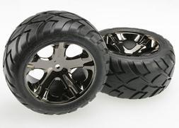 3773A Tires+Wheels Assm Glued Elec Re TRAC3773 TRAXXAS