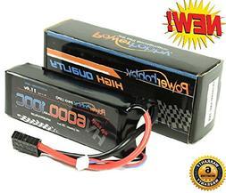 Powerhobby 3S 11.4V HV 6000mAh 100C-200C Lipo Battery Pack w