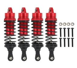 4 Pcs Rc Car Front Rear Shock Absorber For 1/10 Traxxas Slas