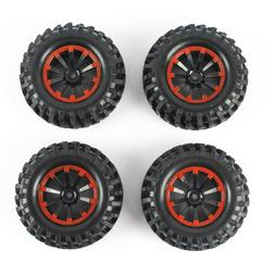 4pcs 1.9 ''96mm RC Crawler Tires 12mm Hex Hub for RC 1/10 Cr