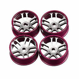 4PCS Wltoys Metal Hub RC Car Wheel 1/28 For K989 And IW04M R