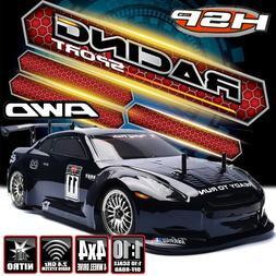 HSP RC Racing Car 4WD 1/10 High Speed Nitro Gas Power Drift