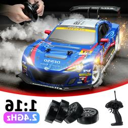 4WD 1:16 RC Cars High Speed 2.4GHz Drift Car Eletric Remote
