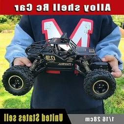 4WD Electric RC Car Rock Crawler Remote Control Toy Cars On