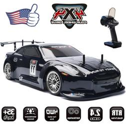 HSP 4WD RC Car 1:10 On Road Two Speed Nitro Gas Power Tourin