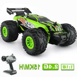 4WD RC Car Buggy 1/18 Scale High-speed 2.4G Remote Control V
