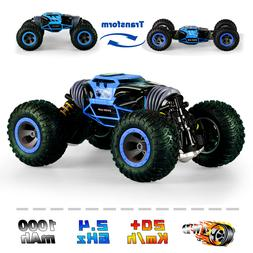 4WD RC Cars Off-Road Stunt Vehicles Rock Crawler 2.4Ghz Tran