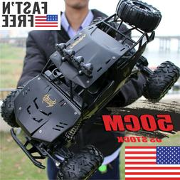 4WD RC Monster Truck Off-Road Vehicle 2.4G Remote Control Cr