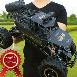 4WD RC Monster Truck Off-Road Vehicle 2.4G Buggy Crawler Car