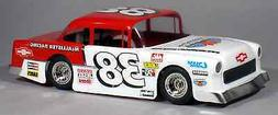 55 chevy bomber clear rc car body