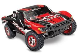 Traxxas 58034-1 Slash 2WD RTR Short Course Truck RED w/Batte