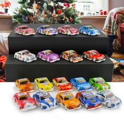 6-12Pcs Baby Toys Cars Pull back Mini Racing Truck Model Par