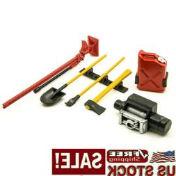 6Pcs RC Car Accessories Tools Set For 1:10 SCX10 D90 RC Rock