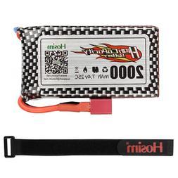 Hosim 7.4V 1600mAh Li-Po Battery for RC Car Hosim 9125